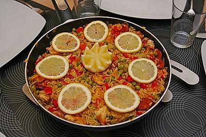 Hähnchen Paella 1