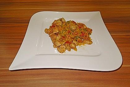 Hähnchen Paella 45
