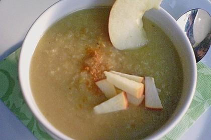 Apfel - Sellerie - Suppe 8