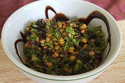Linsen-Rucola-Salat 1