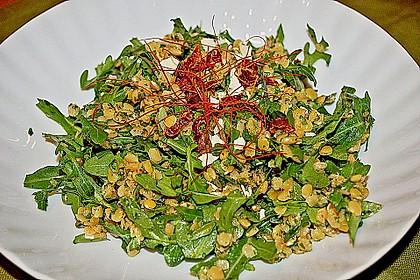 Linsen-Rucola-Salat 6