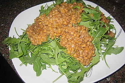 Linsen-Rucola-Salat 18