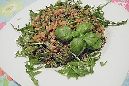Linsen-Rucola-Salat 12