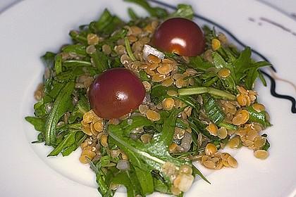 Linsen-Rucola-Salat 10