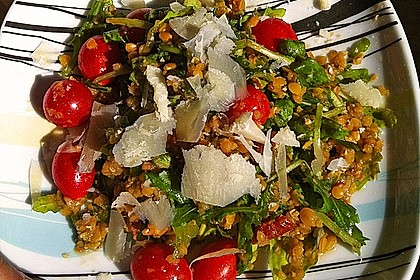 Linsen-Rucola-Salat 5