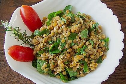 Linsen-Rucola-Salat 3