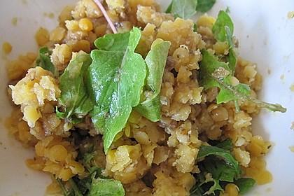 Linsen-Rucola-Salat 17