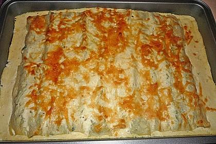 Cannelloni mit Ricotta und Spinat 6