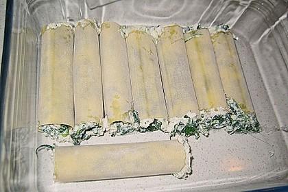 Cannelloni mit Ricotta und Spinat 10