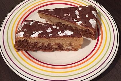 Baileys - Marzipan - Blechkuchen (Bild)