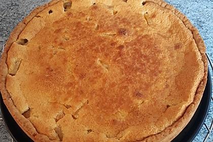 Birnen - Creme Kuchen (Bild)