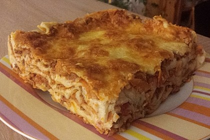 Italienische Lasagne (Bild)