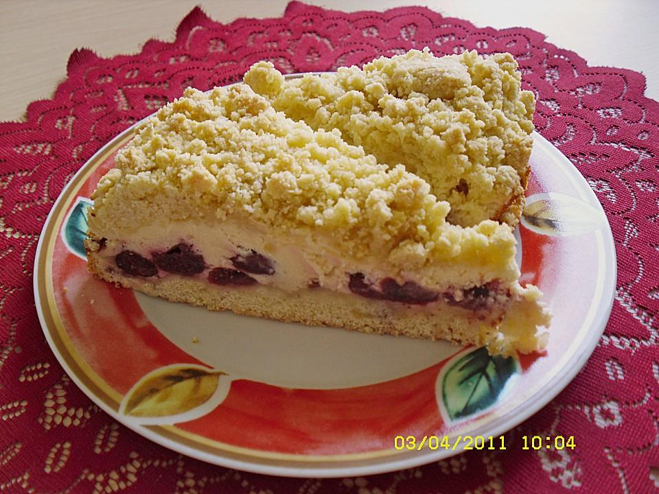 Schnelle Kirsch Quark Torte Von Heeschen Chefkoch De