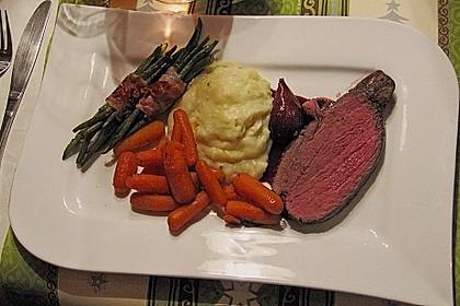 Rinderfilet auf Rotweinschalotten-Butter 2