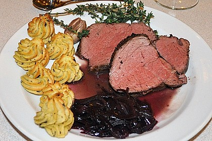 Rinderfilet auf Rotweinschalotten-Butter 3