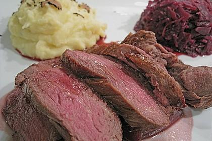 Rinderfilet auf Rotweinschalotten-Butter 4