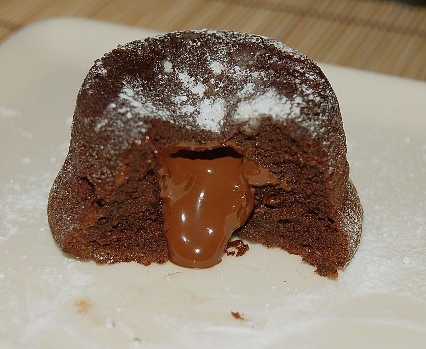 Warmes Schokoladensouffle Mit Flussiger Fullung Von Johannes1