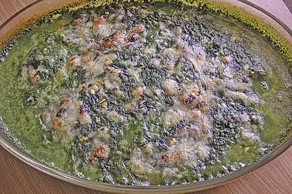 Seelachsfilet mit Spinat - Feta - Kruste 30
