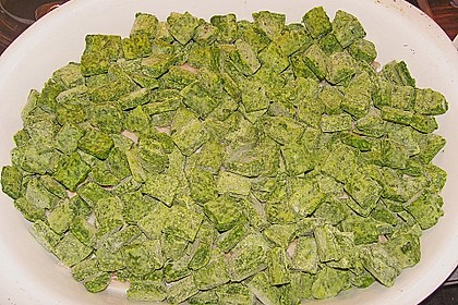 Seelachsfilet mit Spinat - Feta - Kruste 38
