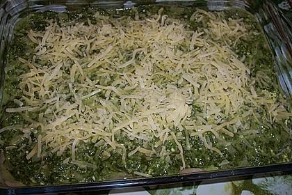 Seelachsfilet mit Spinat - Feta - Kruste 20