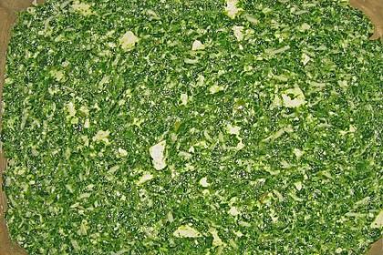 Seelachsfilet mit Spinat - Feta - Kruste 35