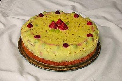 Früchte - Pudding Kuchen 1