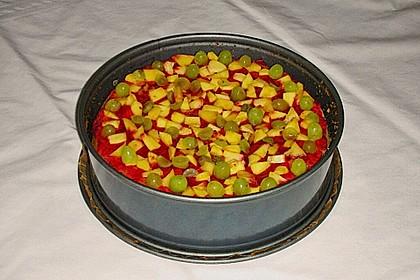 Früchte - Pudding Kuchen 2
