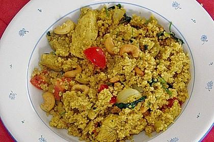 Hähnchencurry mit Couscous