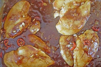 Hähnchenbrust in Tomaten - Honig - Chili - Soße 21