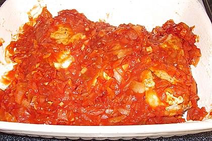 Hähnchenbrust in Tomaten - Honig - Chili - Soße 20