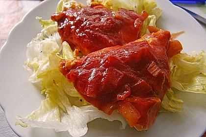 Hähnchenbrust in Tomaten - Honig - Chili - Soße 10