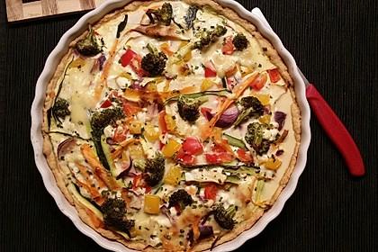Gemüse-Quiche 32
