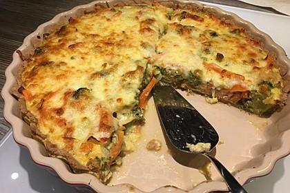 Gemüse-Quiche 9
