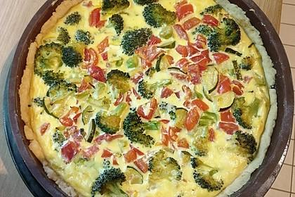 Gemüse-Quiche 7