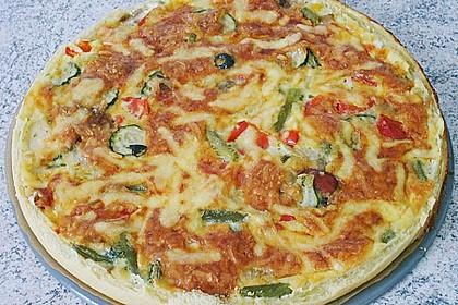 Gemüse-Quiche 29
