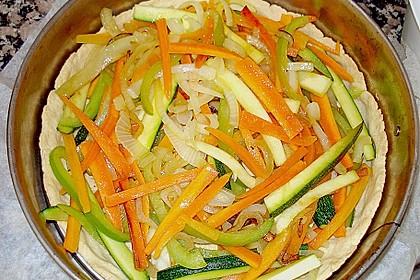 Gemüse-Quiche 33