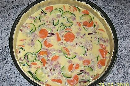 Gemüse-Quiche 35