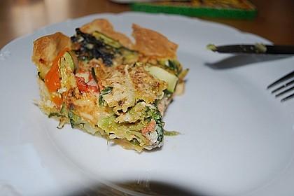 Gemüse-Quiche 15