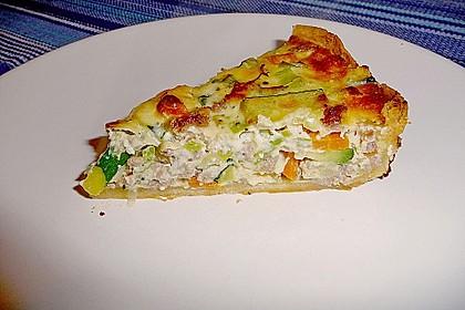 Gemüse-Quiche 1