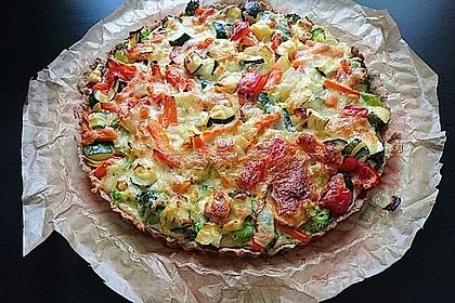 Gemüse-Quiche 17