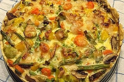 Gemüse-Quiche 6