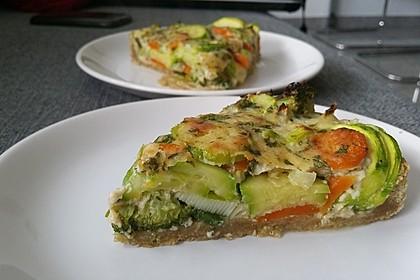 Gemüse-Quiche 5