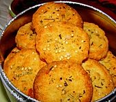 Parmesan - Rosmarin - Cracker (Bild)