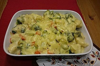 Blumenkohl - Brokkoli - Auflauf 25