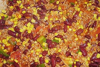 Cremiges Chili Con Carne mit Sauerrahm 8