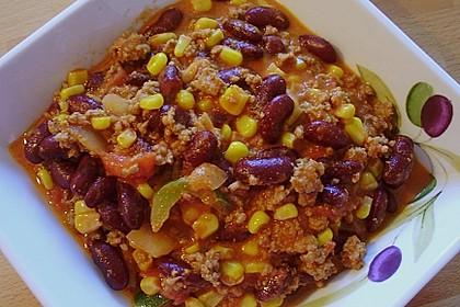 Cremiges Chili Con Carne mit Sauerrahm 2