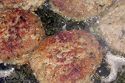 Grünkern - Frikadellen mit Joghurtsauce 21