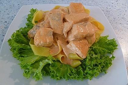 Lachs-Sahnesoße zu Nudeln 26