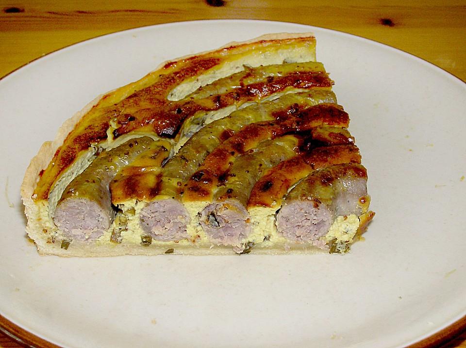 Bratwurst Torte Mit Senfkruste Von Haianne Chefkoch De
