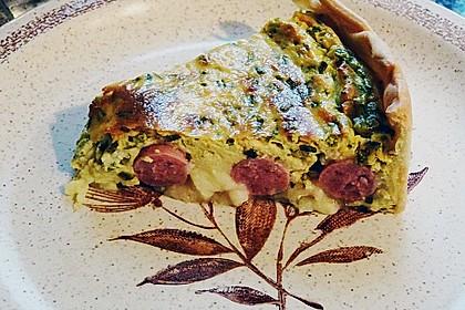 Bratwurst - Torte mit Senfkruste 20